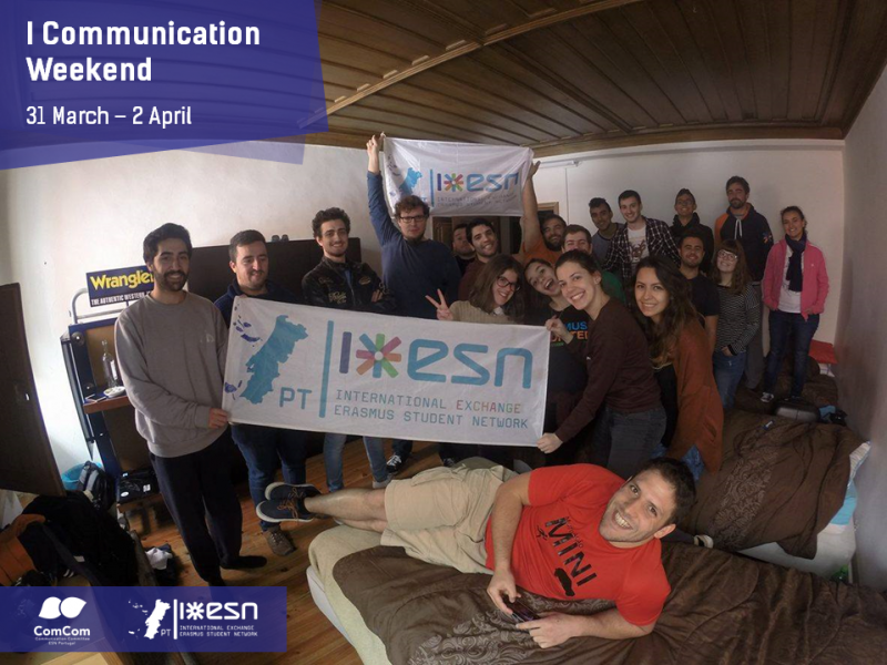 I Communication Weekend by ESN Portugal