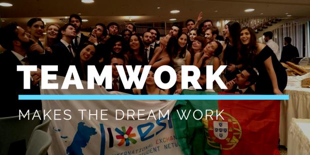 Team Work makes the dream work - ESN Portugal won 14 awards